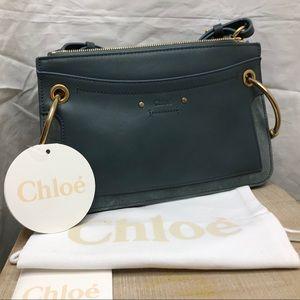 Chloe Roy shoulder bag Cloudy Blue Crossbody purse